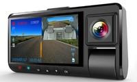 """Видеорегистратор с салонной камерой Xtech, FHD, 3.0"""", Wi-Fi, ADAS, черный"""