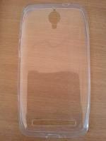 Чехол-накладка для Asus Zenfone С силикон, прозрачный