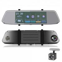 """Видеорегистратор зеркало с камерой заднего вида TDS TS-CAR41, FHD, IPS 7.0"""", сенсор"""