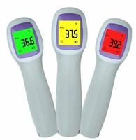 Термометр бесконтактный, инфракрасный, UX-A-01, RGB подсветка, звук