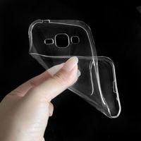 Чехол-накладка на Samsung J3 (J320) (2016) силикон, ультратонкий, прозрачный