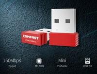 Адаптер Wi-Fi, Comfast, 802.11n/g/b, 150Mbps, MediaTek 7601