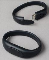 Память USB 2.0 Flash, браслет, черный, 8 Gb