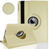 Чехол Smart-cover для Apple iPad Air, кожа, вращающийся, белый