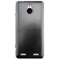 Чехол-накладка для ZTE Nubia Z5 mini, пластик, черный