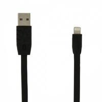 Кабель для iPhone 8pin, Remax Light Speed RC-001 5-010, 1м, черный