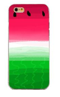Чехол-накладка на Apple iPhone 5/5S, пластик, fruit 2