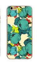 Чехол-накладка на Apple iPhone 5/5S, пластик, flowers 7