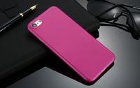 Чехол-накладка на Apple iPhone 7/8 Plus, пластик, ультратонкий, матовый, розовый