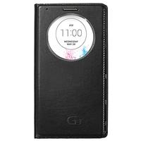 Чехол-книжка на LG G3 D855 кожа, черный