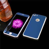 Цветное защитное стекло для Apple iPhone 7/8/SE2 комплект, синий