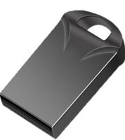 Память USB 2.0 Flash, 8GB, BiNFUL, металл, style 9, черный
