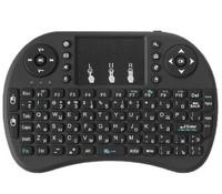 Клавиатура беспроводная Wechip i8, подсветка 3 цвета, мини, eng
