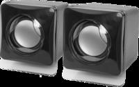 Активные колонки 2.0, Defender SPK 35, 2x2.5W, черный