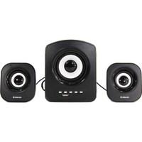 Активные колонки 2.1, Defender Z6, 5W+2x3W, FM, MP3, USB, черный