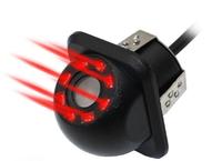 Камера заднего вида Podofo, внутренняя, угловая, 8 диодов, с инфракр. подсветкой, черный