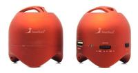 Портативная колонка, Smart Track EVOLUTION STS-1900, USB, SD, красный