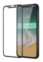 Защитное стекло Apple iPhone XR на дисплей, 3D, черный
