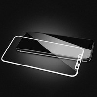 Защитное стекло Apple iPhone XS Max на дисплей, 4D, белый