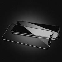 Защитное стекло Apple iPhone XS Max на дисплей, 4D, черный