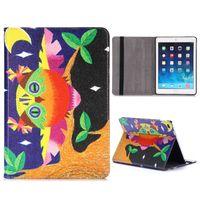 Чехол Smart-cover для Apple iPad Air, кожа, color owl