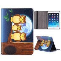 Чехол Smart-cover для Apple iPad Air, кожа, owl 2