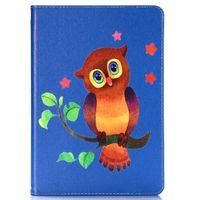 Чехол Smart-cover для Apple iPad Air, кожа, owl 3