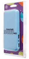 Портативный аккумулятор 10000mAh, RockBox RB01, 2хUSB, синий