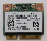 Адаптер miniPCI-e Wi-Fi, для ноутбука, AR5B225, 802.11n/g/b, Bluetooth 4.0, 300Mbps
