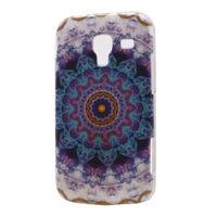 Чехол-накладка на Samsung Ace2 пластик, symmetry blue