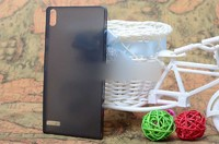Чехол-накладка для Huawei Ascend P6 пластик, черный