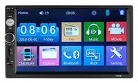 Автомагнитола Podofo 7010B, 2DIN, Bluetooth, FM, USB, TF, AUX, камера(опц.), пульт