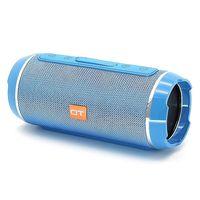 Портативная колонка, Орбита OT-SPB56, Bluetooth, USB, FM, AUX, TF, 2*5 Вт, 1200mAh, синий