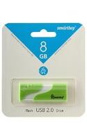 Память USB 2.0 Flash, 8GB, Smart Buy Hatch Green