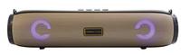 Портативная колонка, Орбита OT-SPB85, Bluetooth, USB, FM, AUX, TF, 10Вт, 1500 mAh, золотистый