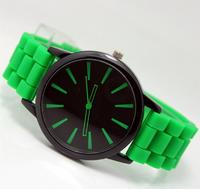 Часы наручные Noname, ц.зеленый, р.зеленый, силикон