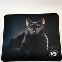 Коврик для мыши VS Cat Img 1, ткань, резина, 220x180 мм