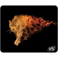 Коврик для мыши VS Flames Леопард, ткань, резина, 320x240 мм