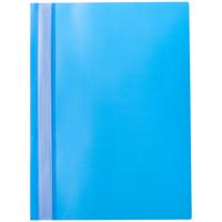Скоросшиватель для файлов, inФОРМАТ, пластиковый, 180мкм, голубой