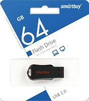 Память USB 2.0 Flash, 64GB, Smart Buy UNIT Red