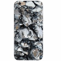 Чехол-накладка на Apple iPhone 7/8/SE2, силикон, под камень, №1