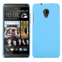 Чехол-накладка на HTC Desire 700 пластик, 0,5мм, голубой
