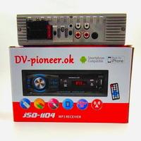 Автомагнитола DV-Pioneerok JSD-1104, радио, USB, TF, Bluetooth, AUX, пульт