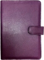 Универсальный чехол, 7'', кожа, фиолетовый