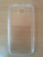 Чехол-накладка для Huawei Ascend Y520 силикон, ультратонкий, прозрачный