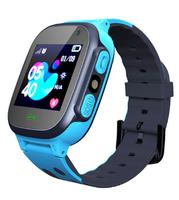 Смарт-часы Q15, детские, Sim, LCD, LBS, камера, фонарик, синий