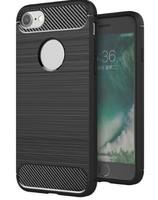 Чехол-накладка на Apple iPhone X/Xs, силикон, противоударный, матовый, DREAMYSOW, черный