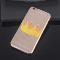 Чехол-накладка для Huawei G630 силикон, ультратонкий, корона