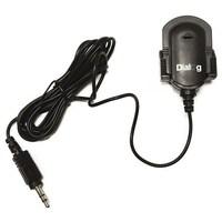 Микрофон Dialog M-100B, на прищепке, клипса, черный