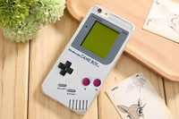 Чехол-накладка на Apple iPhone 5/5S, силикон, game boy 2